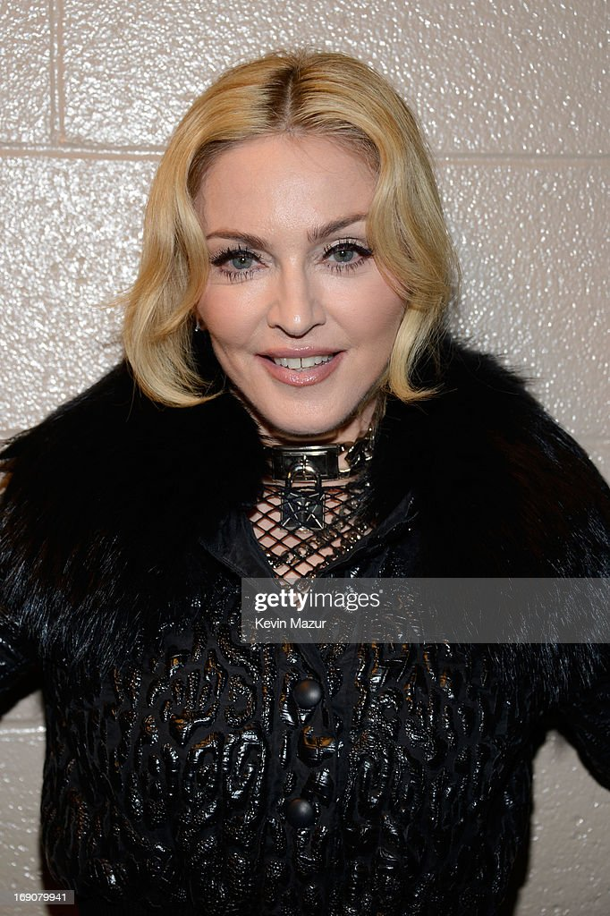 Singer <a gi-track='captionPersonalityLinkClicked' href=/galleries/search?phrase=Madonna+-+Singer&family=editorial&specificpeople=156408 ng-click='$event.stopPropagation()'>Madonna</a> attends the 2013 Billboard Music Awards at the MGM Grand Garden Arena on May 19, 2013 in Las Vegas, Nevada.