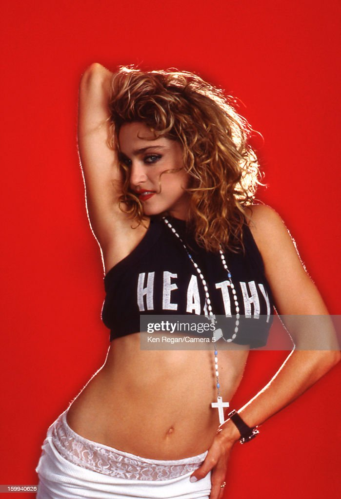 Singer Madonna is photographed for People Magazine in 1985 in New York City. PUBLISHED IMAGE.