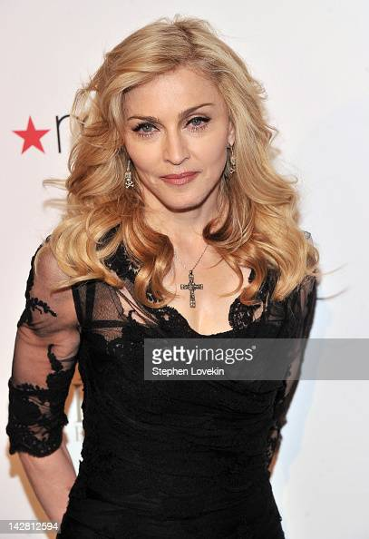 Singer Madonna Launches Her Signature Fragrance 'Truth Or Dare' By Madonna Macy's Herald Square on April 12 2012 in New York City