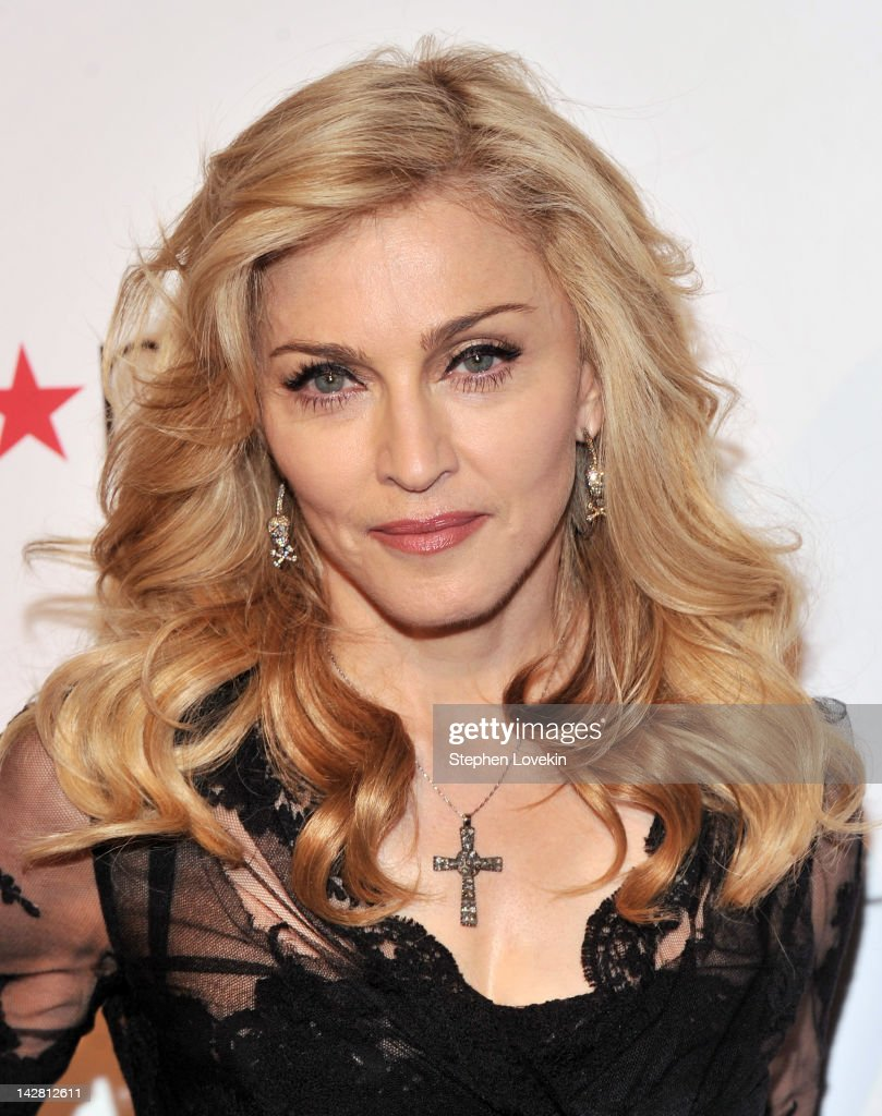Singer <a gi-track='captionPersonalityLinkClicked' href=/galleries/search?phrase=Madonna+-+S%C3%A5ngerska&family=editorial&specificpeople=156408 ng-click='$event.stopPropagation()'>Madonna</a> Launches Her Signature Fragrance 'Truth Or Dare' By <a gi-track='captionPersonalityLinkClicked' href=/galleries/search?phrase=Madonna+-+S%C3%A5ngerska&family=editorial&specificpeople=156408 ng-click='$event.stopPropagation()'>Madonna</a> Macy's Herald Square on April 12, 2012 in New York City.