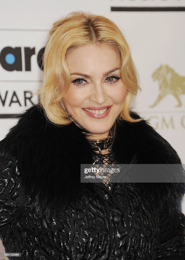 Singer Madonna poses in the press room at the 2013 Billboard Music Awards at MGM Grand Garden Arena on May 19 2013 in Las Vegas Nevada