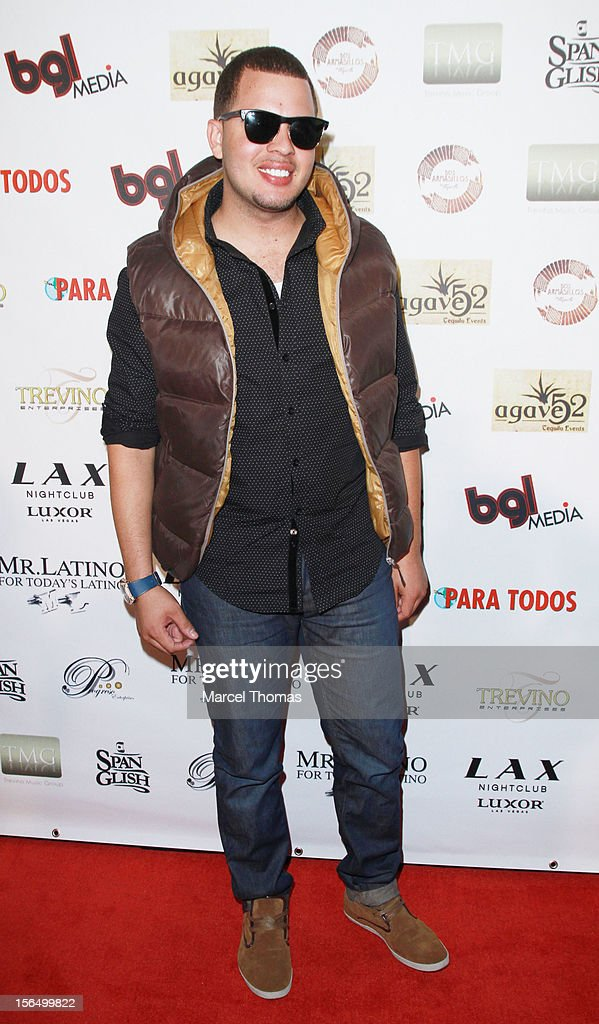 Singer Mafia attends the 13th Annual Latin GRAMMY Awards After-party at LAX Nightclub on November 15, 2012 in Las Vegas, Nevada.