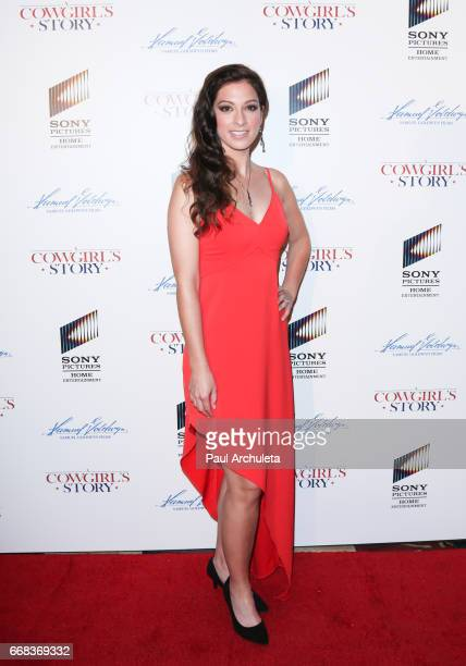 Singer Maggie McClure attends the premiere of 'A Cowgirl's Story' at Pacific Theatres at The Grove on April 13 2017 in Los Angeles California