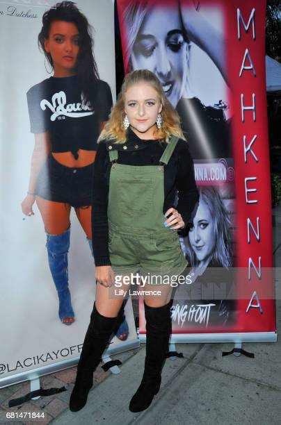 Singer Mahkenna attends Mother's Day Night Out Concert at Surf City Nights on May 9 2017 in Huntington Beach California