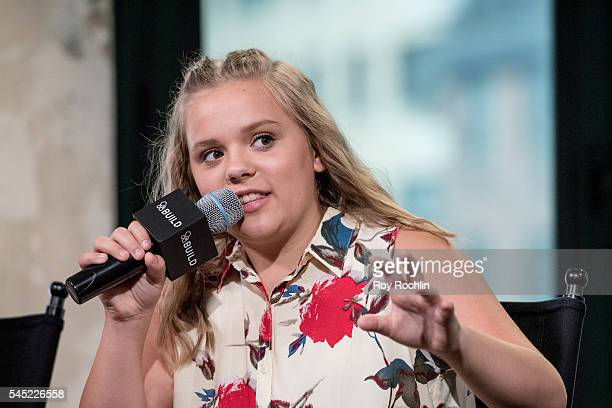 Singer Maisy Stella of Lennon Maisy discuss 'Nashville' with AOL Build at AOL Studios In New York on July 6 2016 in New York City