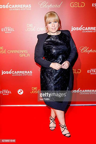 Singer Maite Kelly attends the 22th Annual Jose Carreras Gala on December 14 2016 in Berlin Germany