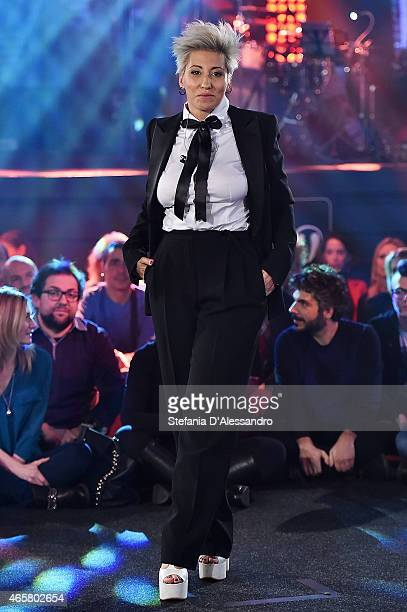 Singer Malika Ayane attends RadioItaliaLive on March 10 2015 in Milan Italy