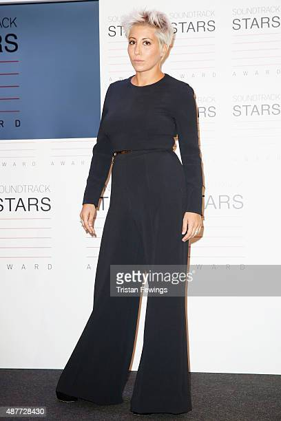 Singer Malika Ayane attends the Awards Ceremony For The Soundtrack Stars 2015 during the 72nd Venice Film Festival at on September 11 2015 in Venice...