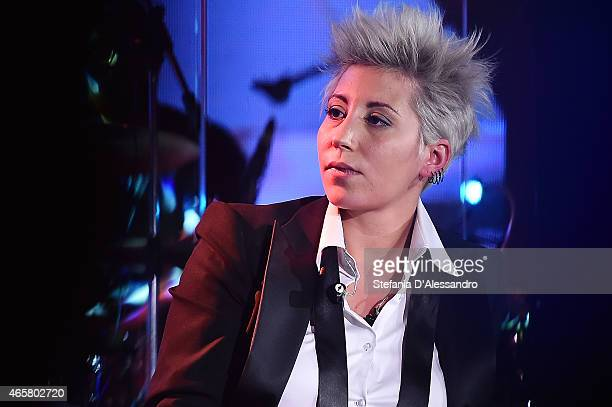 Singer Malika Ayane performs live at RadioItaliaLive on March 10 2015 in Milan Italy