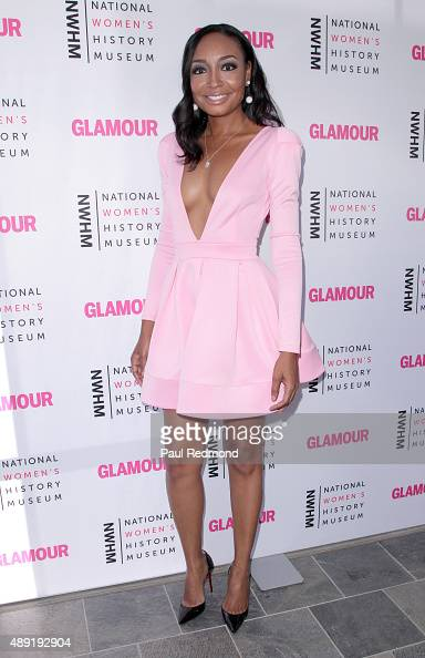 Singer Malina Moye attends National Women's History Museum's 4th Annual 'Women Making History' Brunch at Skirball Cultural Center on September 19...