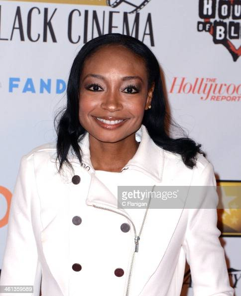 Singer Malina Moye attends the celebration of black cinema hosted by Broadcast Film Critics Association at House of Blues Sunset Strip on January 7...