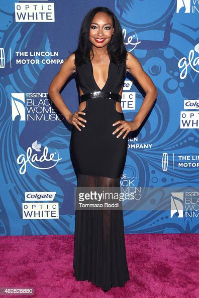 Singer Malina Moye attends the Essence 6th annual Black Women in Music Event held at Avalon on February 5 2015 in Hollywood California