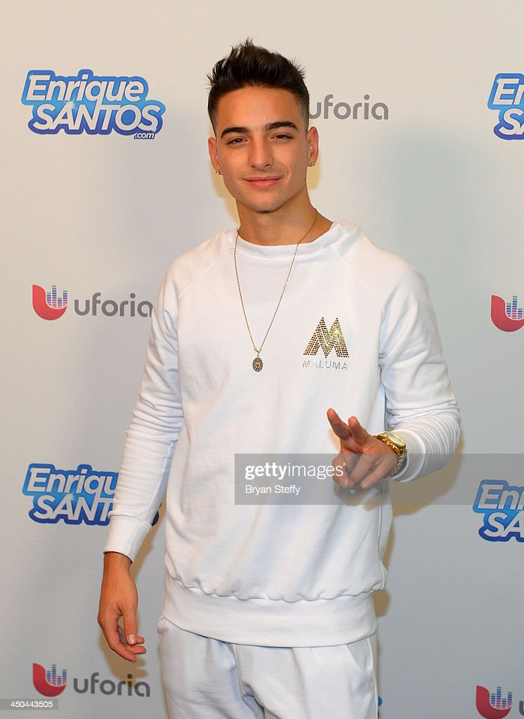 Singer Maluma attends the Univision Radio Remotes during the 14th annual Latin GRAMMY Awards at the Mandalay Bay Events Center on November 18, 2013 in Las Vegas, Nevada.