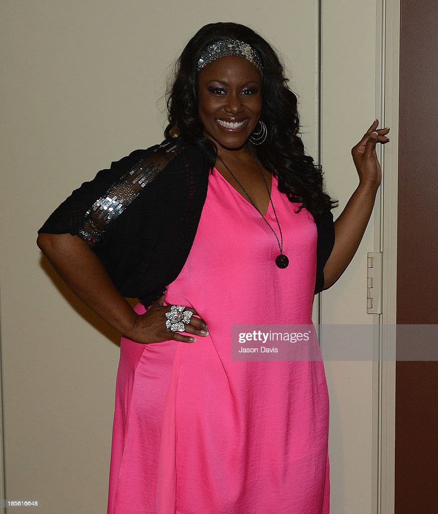 Singer <a gi-track='captionPersonalityLinkClicked' href=/galleries/search?phrase=Mandisa&family=editorial&specificpeople=617337 ng-click='$event.stopPropagation()'>Mandisa</a> appears during the 5th annual Opry Goes Pink show at The Grand Ole Opry on October 22, 2013 in Nashville, Tennessee.