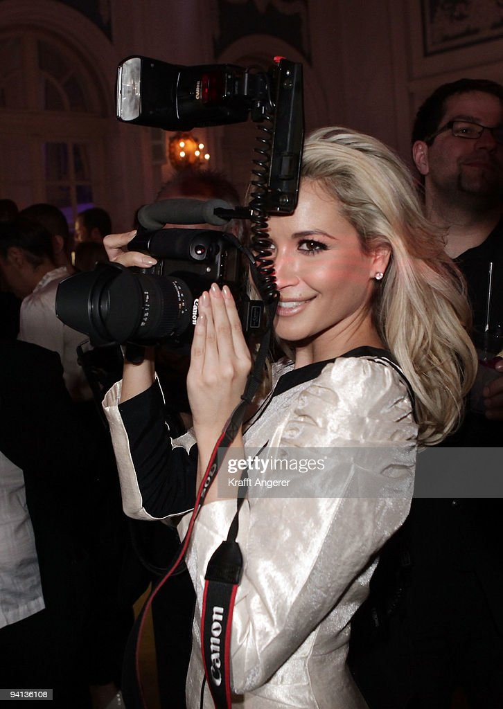 Singer Mandy Capristo of the group Monrose attends the Movie Meets Media 10th Anniversary event on December 07, 2009 in Hamburg, Germany.
