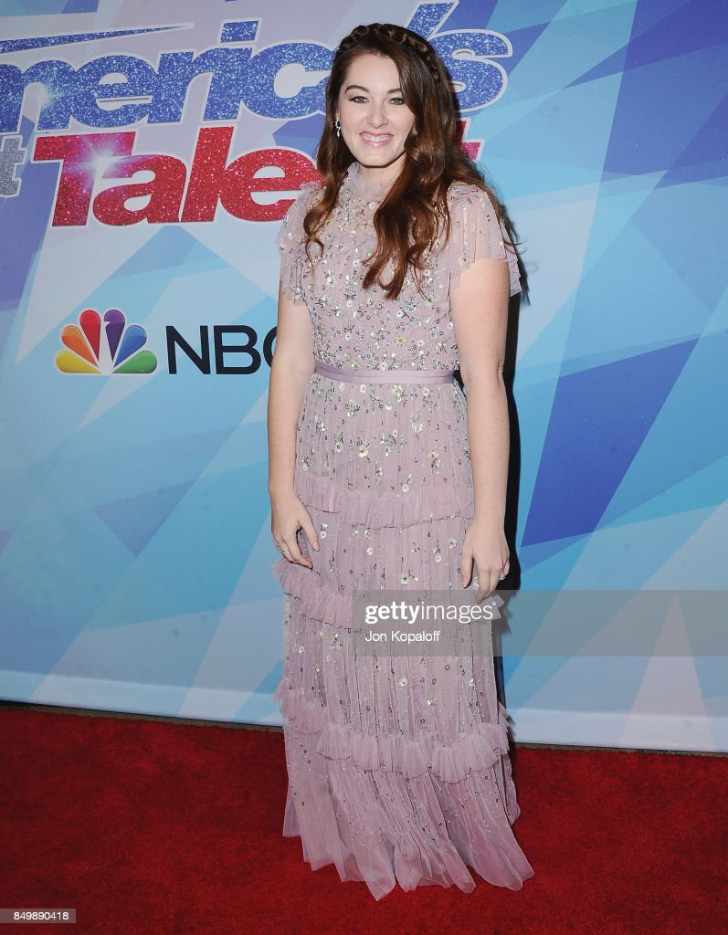 Singer Mandy Harvey attends NBC's 'America's Got Talent' Season 12 Finale Week at Dolby Theatre on September 19, 2017 in Hollywood, California.