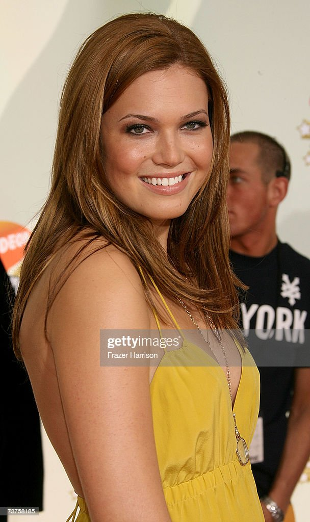 Singer Mandy Moore arrives at the 20th Annual Kid's Choice Awards held at the UCLA Pauley Pavilion on March 31 2007 in Westwood California