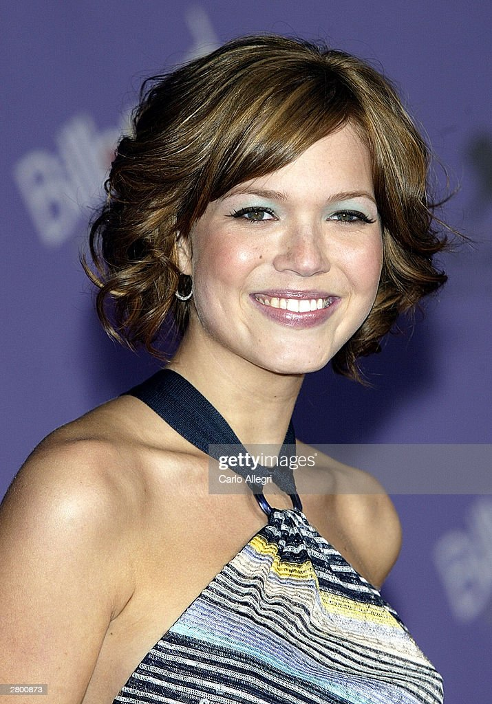 Singer <a gi-track='captionPersonalityLinkClicked' href=/galleries/search?phrase=Mandy+Moore+-+Singer+and+Actress&family=editorial&specificpeople=171637 ng-click='$event.stopPropagation()'>Mandy Moore</a> attends the 2003 Billboard Music Awards at the MGM Grand Garden Arena December 10, 2003 in Las Vegas, Nevada. The 14th annual ceremony airs live tonight on FOX 8:00-10:00 PM ET Live/PT.