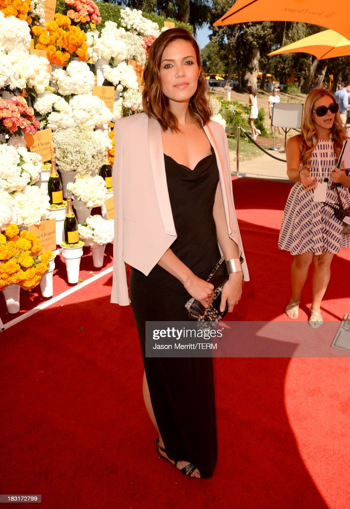 Singer Mandy Moore attends The Fourth-Annual Veuve Clicquot Polo Classic, Los Angeles at Will Rogers State Historic Park on October 5, 2013 in Pacific Palisades, California.