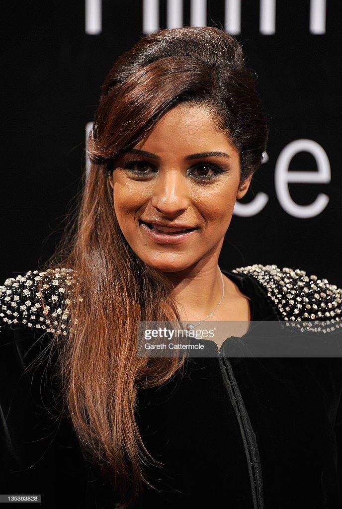 Singer Maram attends the 'Terraferma' premiere during day three of the 8th Annual Dubai International Film Festival held at the Madinat Jumeriah Complex on December 9, 2011 in Dubai, United Arab Emirates.