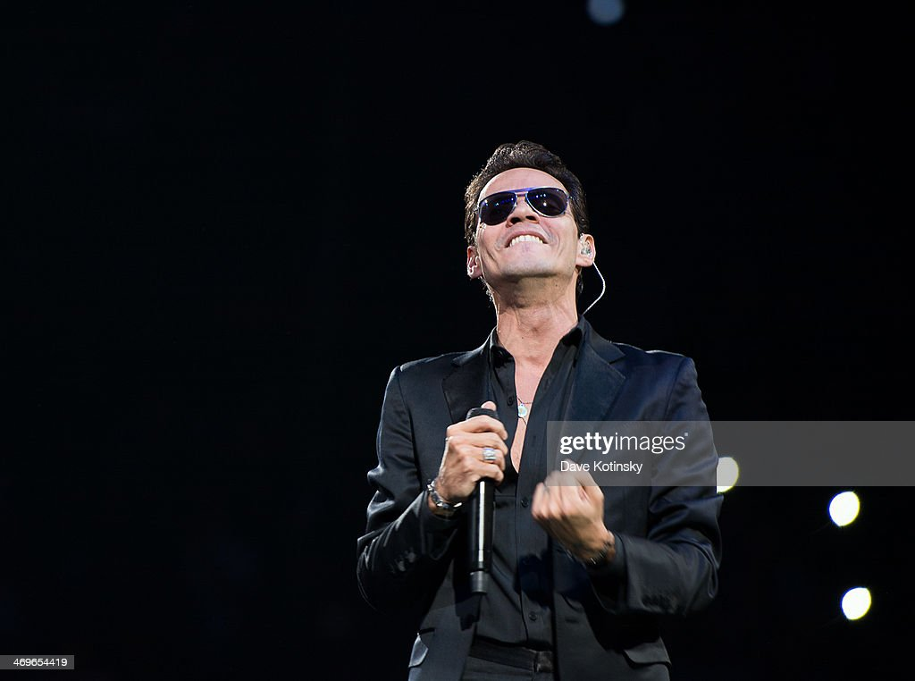 Singer <a gi-track='captionPersonalityLinkClicked' href=/galleries/search?phrase=Marc+Anthony&family=editorial&specificpeople=202544 ng-click='$event.stopPropagation()'>Marc Anthony</a> performs at Barclays Center on February 15, 2014 in the Brooklyn borough of New York City.