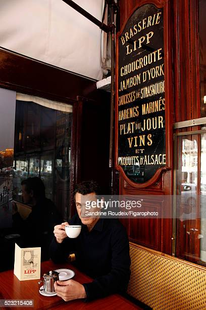 Singer Marc Lavoine is photographed for Madame Figaro on February 15 2016 in Paris France PUBLISHED IMAGE CREDIT MUST READ Sandrine...