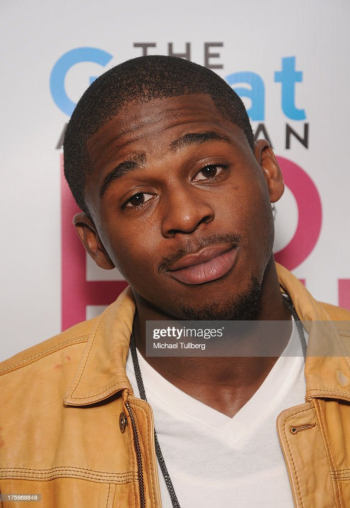 Singer Marcus Canty attends the 2013 No Bull Teen Video Awards at Westin LAX Hotel on August 10, 2013 in Los Angeles, California.