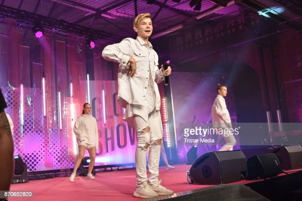 Singer Marcus Gunnarsen the GLOW The Beauty Convention at Station on November 4 2017 in Berlin Germany