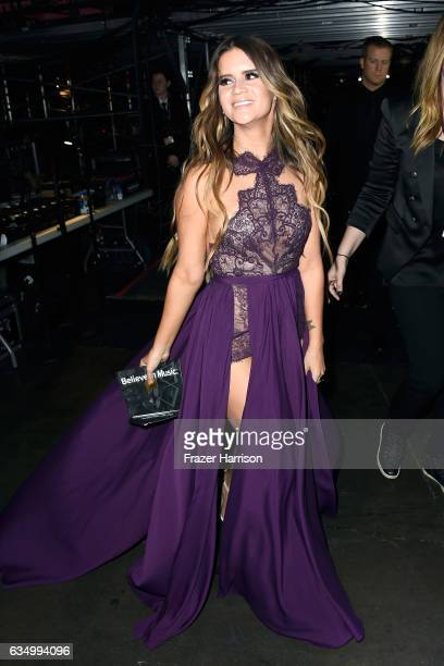 Singer Maren Morris attends The 59th GRAMMY Awards at STAPLES Center on February 12 2017 in Los Angeles California