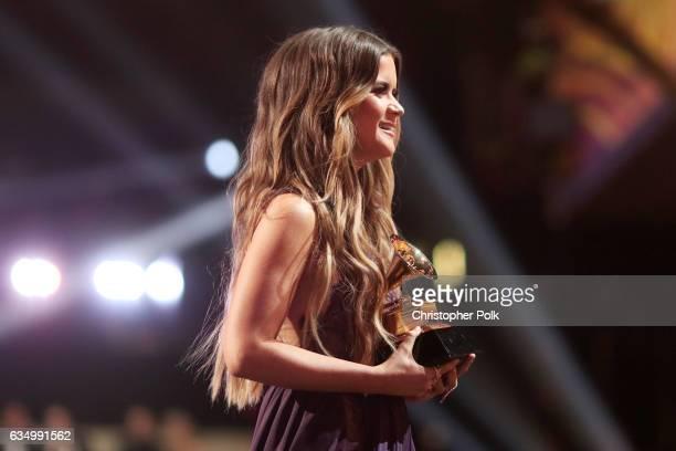 Singer Maren Morris during The 59th GRAMMY Awards at STAPLES Center on February 12 2017 in Los Angeles California