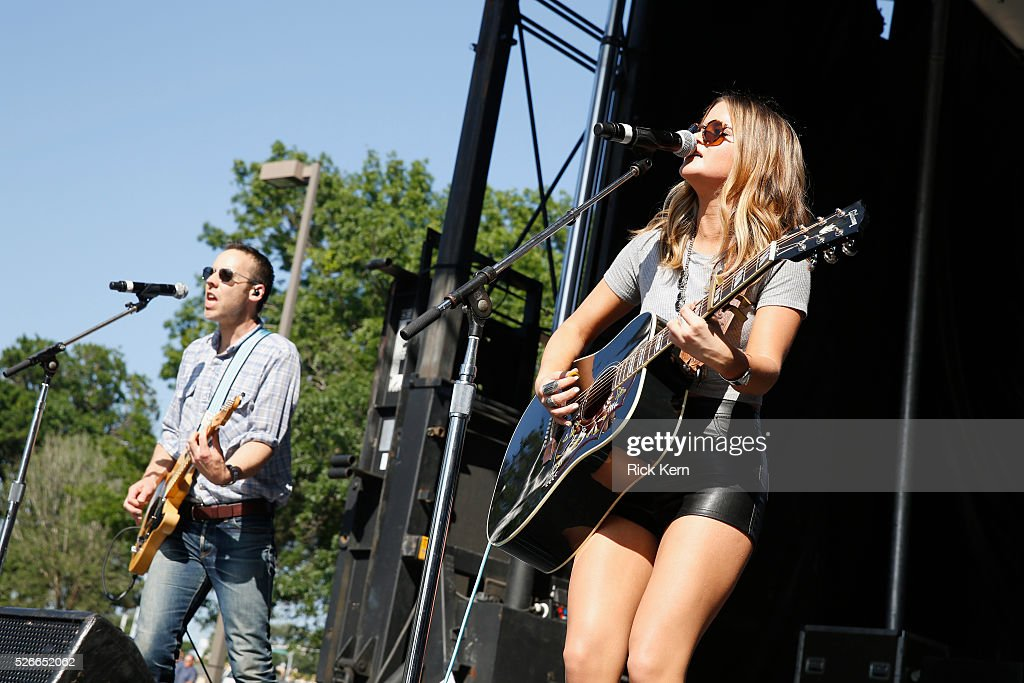 Singer Maren Morris performs live during the 2016 Daytime Village at the iHeartCountry Festival at The Frank Erwin Center on April 30, 2016 in Austin, Texas.