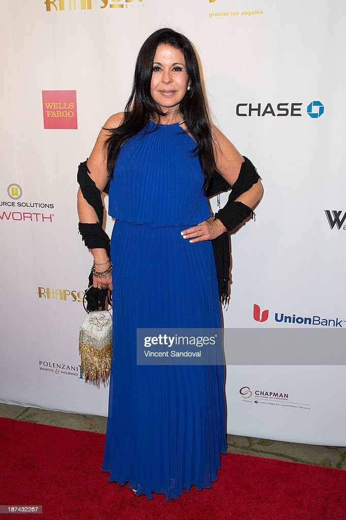 Singer <a gi-track='captionPersonalityLinkClicked' href=/galleries/search?phrase=Maria+Conchita+Alonso&family=editorial&specificpeople=208900 ng-click='$event.stopPropagation()'>Maria Conchita Alonso</a> attends YWCA greater Los Angeles hosts The Rhapsody Ball fundraiser at Beverly Hills Hotel on November 8, 2013 in Beverly Hills, California.