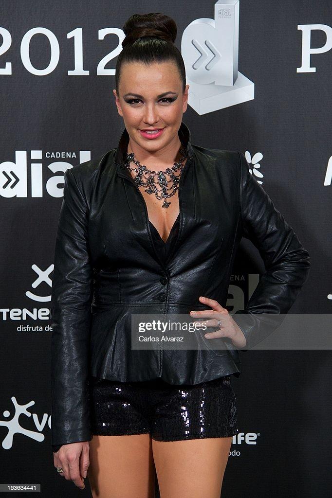 Singer Maria Jose 'La Josa' attends Cadena Dial awards 2013 press room at the Adan Martin auditorium on March 13, 2013 in Tenerife, Spain.