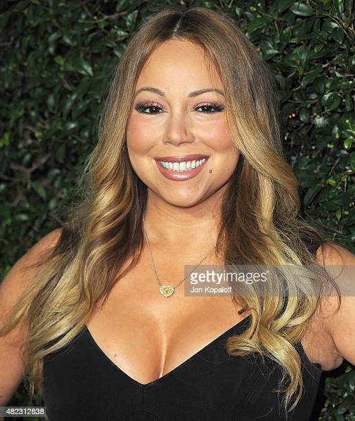 Singer Mariah Carey arrives at 2015 Summer TCA Tour Hallmark Channel and Hallmark Movies And Mysteries on July 29 2015 in Beverly Hills California