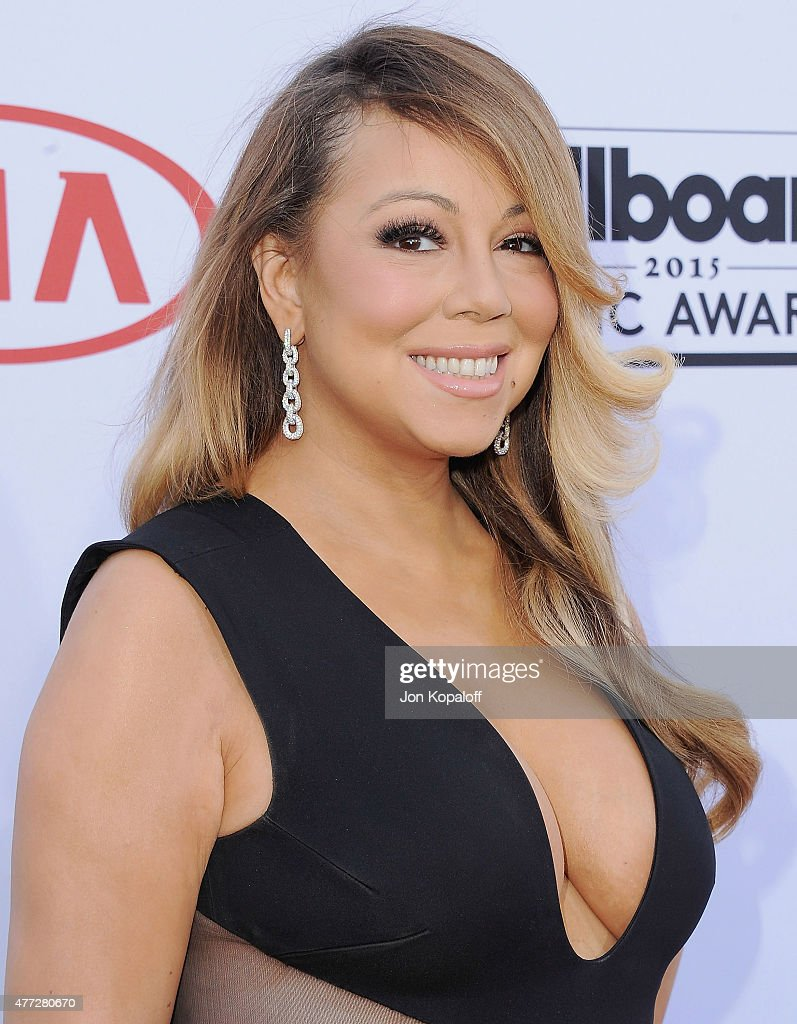 Singer <a gi-track='captionPersonalityLinkClicked' href=/galleries/search?phrase=Mariah+Carey&family=editorial&specificpeople=171647 ng-click='$event.stopPropagation()'>Mariah Carey</a> arrives at the 2015 Billboard Music Awards at MGM Garden Arena on May 17, 2015 in Las Vegas, Nevada.