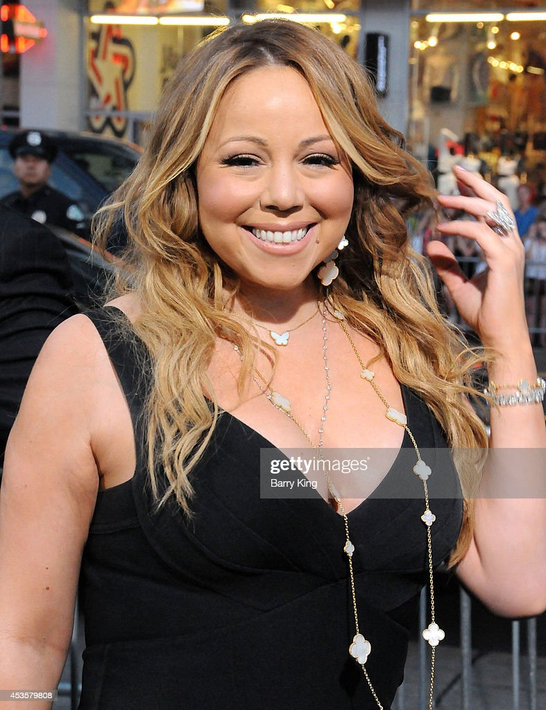 Singer <a gi-track='captionPersonalityLinkClicked' href=/galleries/search?phrase=Mariah+Carey&family=editorial&specificpeople=171647 ng-click='$event.stopPropagation()'>Mariah Carey</a> arrives at the Los Angeles Premiere 'Hercules' on July 23, 2014 at TCL Chinese Theatre in Hollywood, California.
