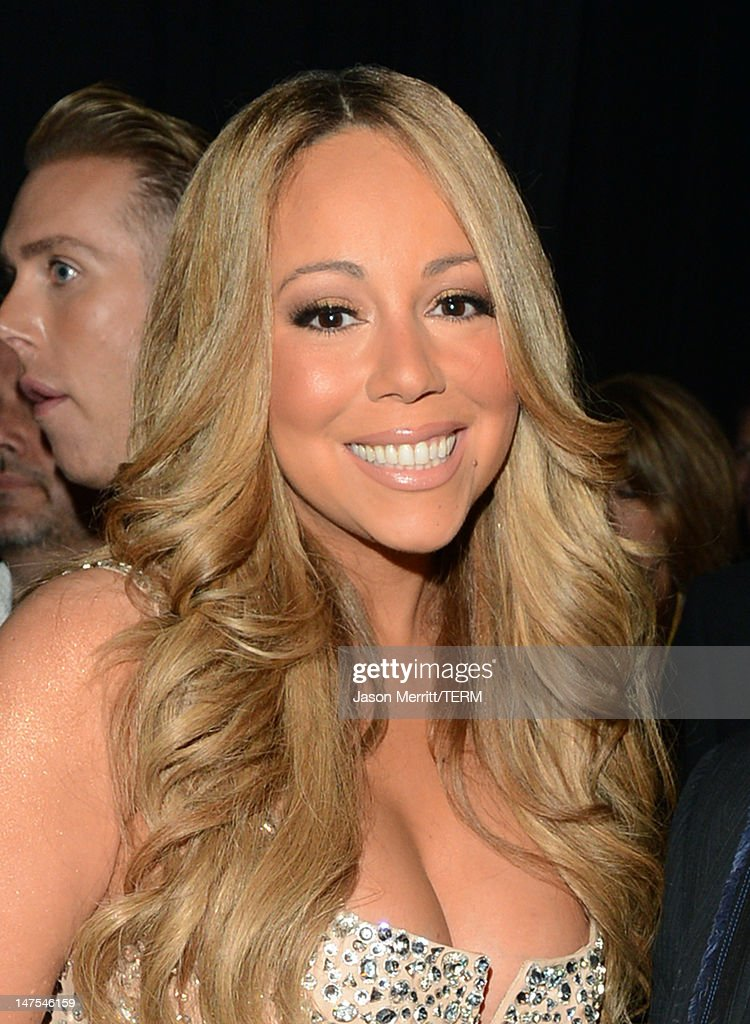 Singer <a gi-track='captionPersonalityLinkClicked' href=/galleries/search?phrase=Mariah+Carey&family=editorial&specificpeople=171647 ng-click='$event.stopPropagation()'>Mariah Carey</a> attends the 2012 BET Awards at The Shrine Auditorium on July 1, 2012 in Los Angeles, California.