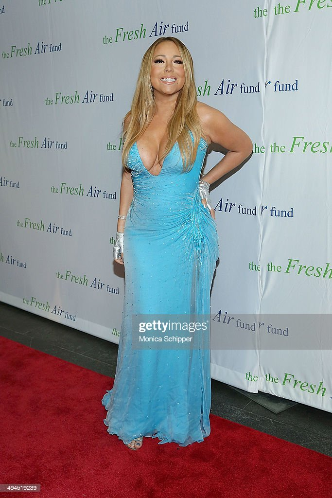 Singer <a gi-track='captionPersonalityLinkClicked' href=/galleries/search?phrase=Mariah+Carey&family=editorial&specificpeople=171647 ng-click='$event.stopPropagation()'>Mariah Carey</a> attends the 2014 Fresh Air Fund Honoring Our American Hero at Pier Sixty at Chelsea Piers on May 29, 2014 in New York City.