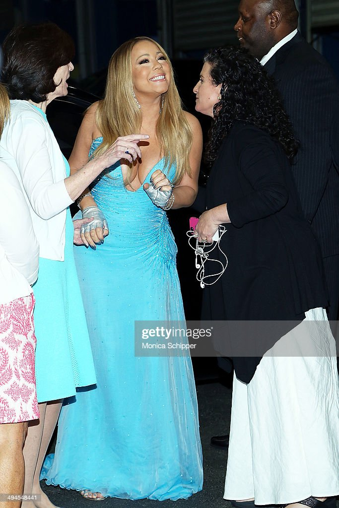 Singer Mariah Carey attends the 2014 Fresh Air Fund Honoring Our American Hero at Pier Sixty at Chelsea Piers on May 29, 2014 in New York City.