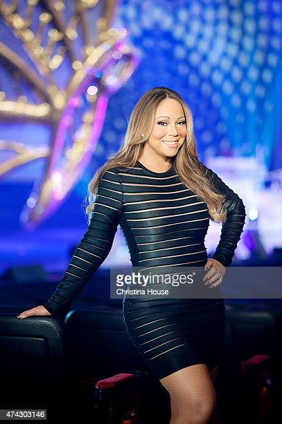Singer Mariah Carey is photographed for Los Angeles Times on May 2 2015 in Las Vegas Nevada PUBLISHED IMAGE CREDIT MUST READ Christina House/Los...