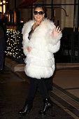 Celebrity Sightings In Paris - December 7, 2018