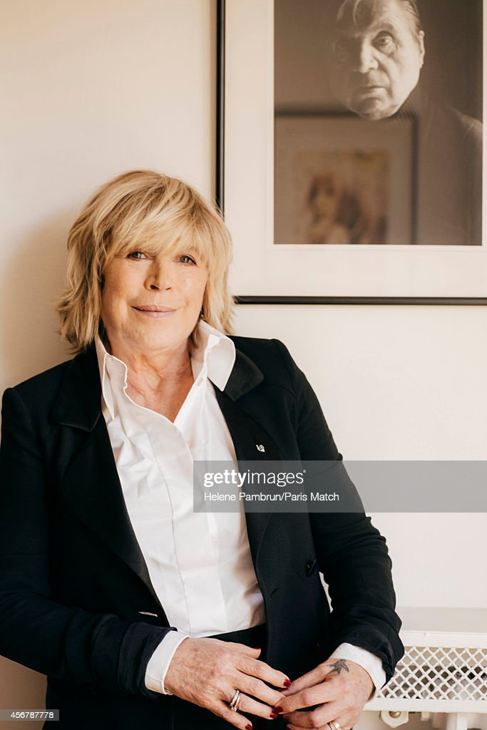 Singer Marianne Faithfull is photographed for Paris Match on September 12, 2014 in Paris, France.