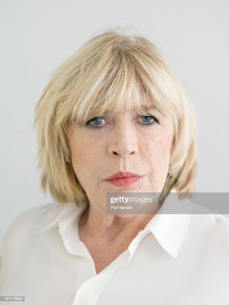 Singer Marianne Faithfull is photographed for the Sunday Times magazine on July 14, 2014 in Paris, France.