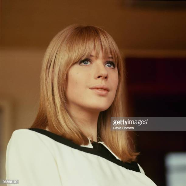 Singer Marianne Faithfull on Thank Your Lucky Stars television show filmed in Birmingham England in 1965