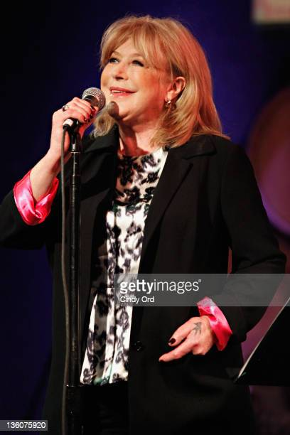 Singer Marianne Faithfull performs at the City Winery on December 18 2011 in New York City
