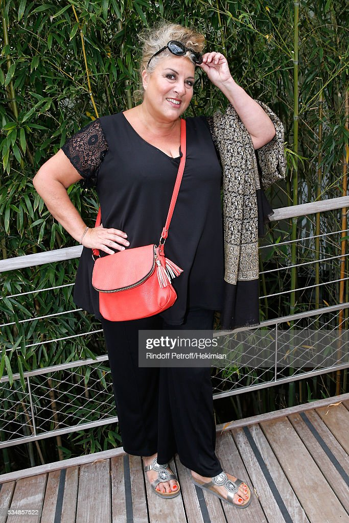 Singer Marianne James attends Day Seven of the 2016 French Tennis Open at Roland Garros on May 28, 2016 in Paris, France.
