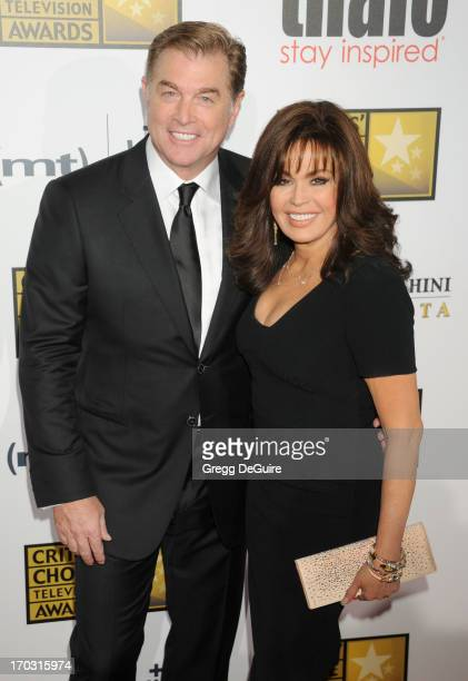 Singer Marie Osmond and husband Steve Craig arrive at the Broadcast Television Journalists Association 3rd Annual Critics' Choice Television Awards...