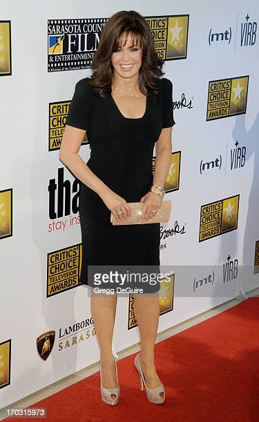 Singer Marie Osmond arrives at the Broadcast Television Journalists Association 3rd Annual Critics' Choice Television Awards at The Beverly Hilton...