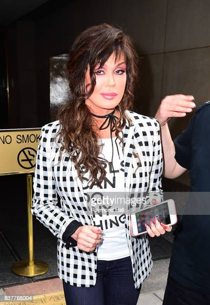Singer Marie Osmond is seen outsid the today show on August 22 2017 in New York City