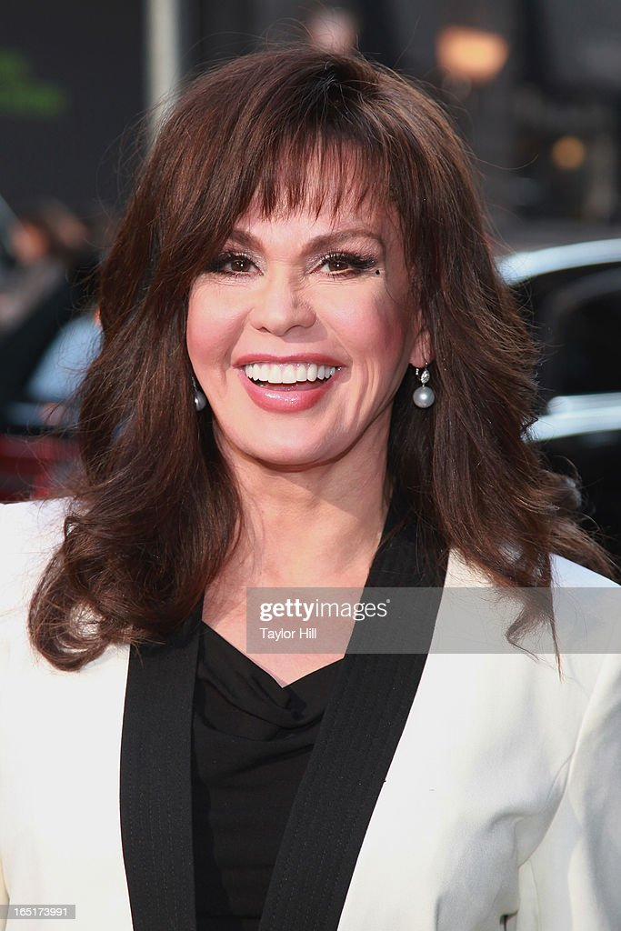 Singer Marie Osmond of The Osmonds visits the set of 'Good Morning America' at GMA Studios on April 1, 2013 in New York City.